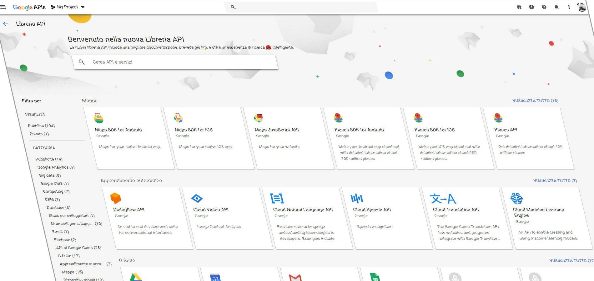 inc google apis